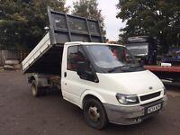 Ford transit twin wheel tipper 54 2005 2.4 td
