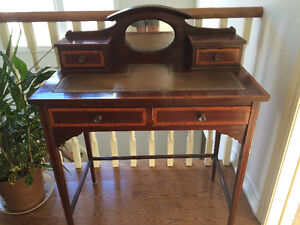 Edwardian Ladies Desk and Chair
