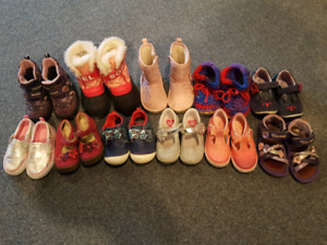Toddler girl size 6 shoes