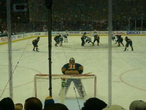 Exceptional View - Buffalo Sabres Section 123 Row 7