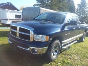 2004 Dodge ram 4x4 dont need much fore safety