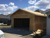 Professional and Quality Basement and Garage Framing!
