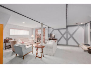 Bright and Spacious RAISED Basement SW Calgary-PRIVATE ENTRANCE