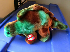 Steg the Stegosaurus Ty Beanie Buddy stuffed animal