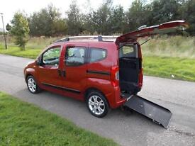 2011 Fiat Qubo 1.3 TD Automatic Auto Only 34K WHEELCHAIR ACCESSIBLE DISABLED WAV