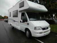 REDUCED CI Carioca 656, 6 Berth, Bunk beds motorhome for sale.