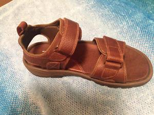 DARK BROWN Rockport Men's Sandals, new !