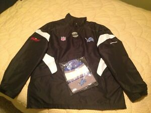 NEW Detroit Lions sideline jacket & toque