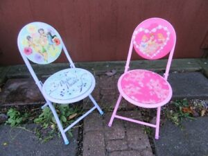 CHAIRS FOR KIDS (2) - DISNEY