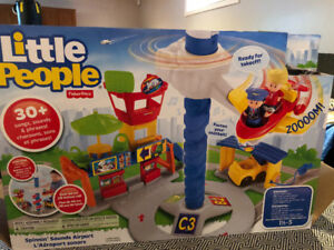 Aéroport sonore Little People Fisher Price