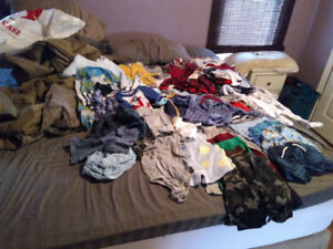 Huge lot of newborn to 0- 6 month baby clothes