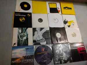"17 Drum N Bass Jungle DnB Records DJ 12"" Music"