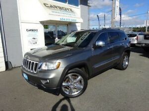 2011 Jeep Grand Cherokee Limited 4WD, Nav, Pano Roof, Leather, E