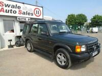 2002 LAND ROVER DISCOVERY 2.5 TD5 GS - 121,488 MILES - SERVICE HISTORY -7 SEATER