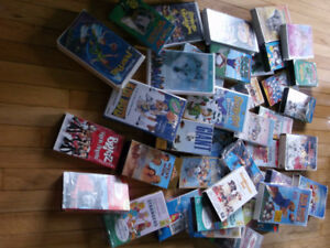 Lot of VHS tapes/movies