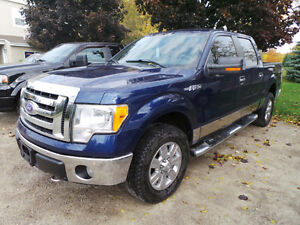 2009 FORD F-150 XLT, 4X4, 5.4L V8, SUPERCREW