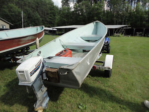 13 FT ALUMINUM BOAT FOR SALE