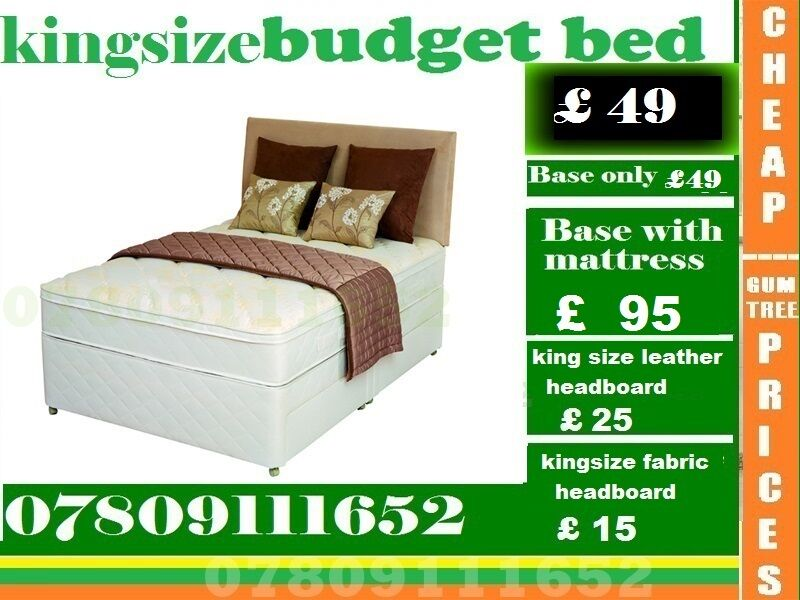 "Special Offer Double King SizeBeddingin Stratford, LondonGumtree - Please click ""See all ads"" at the top to see more Beds and other furniture in our store"