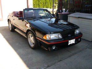 1987 Ford Mustang GT Convertible 5.0