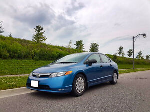 Honda Civic 2008 DX | Low KM | Auto transmission | Clean