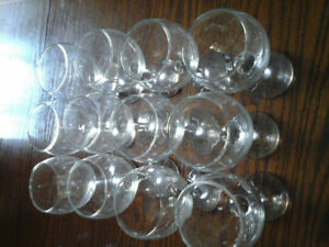 Used Wine glasses