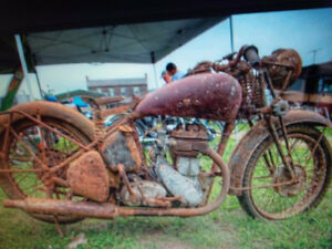 Motorcycle wanted your old beat up rusty unloved bike