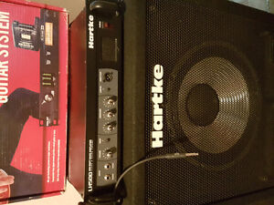 Bass amp and cabs.