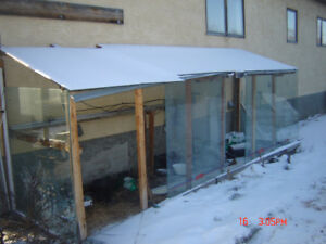 have 4x5 ft 3/8th thick glass good for green house free pickup