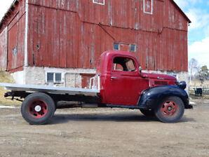 1946 Fargo 1.5 ton duallie