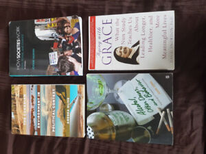 Textbooks for sale PSY 607, SOC 103, POL 203, AGING WITH GRACE