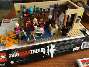 LEGO: The Big Bang Theory, 100% complete.