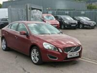 2013 Volvo S60 D4 [163] SE Lux Nav 4dr Geartronic SALOON Diesel Automatic