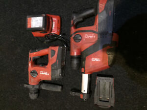Hilti Cordless SDS Hammerdrill Package