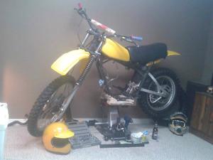 Vintage yamaha dirtbike