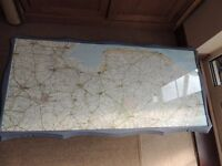 Norfolk Map coffee table