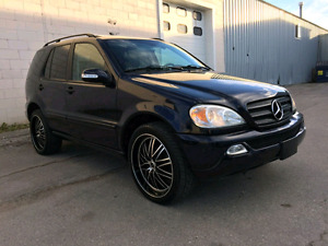 CLEAN TITLE SAFETIED 2005 MERCEDES BENZ ML350