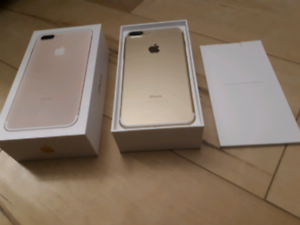 Like New iPhone 7 (+) 128gb Gold Edition !