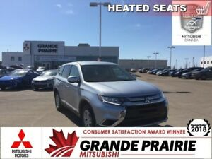2017 Mitsubishi Outlander ES  - Bluetooth -  Heated Seats - $161