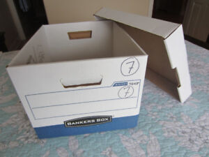Banker's Boxes