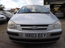 Hyundai Getz 1.1 GSi 2003 S/HISTORY LOTS OF RECEIPTS