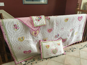 Pottery Barn Girls quilt (full/Queen)
