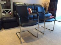 2 office chairs- excellent condition