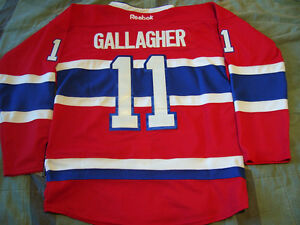 NHL CHANDAIL JERSEY MONTREAL CANADIENS #11 Brendan Gallagher