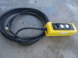 Ifor Williams electric tipper trailer controller