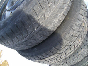 205/65/r16 tires and rims (snow tires)