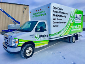 Combined Duct & Carpet Cleaning Truck For Sale