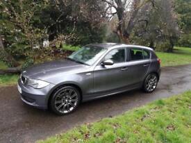 2008 58 BMW 118i ES 6 SPEED 5 Door 2 FORMER KEEPERS NEW MOT £3995