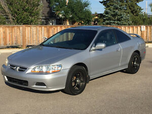 2001 Honda Accord EX-L V6 Leather Coupe Auto Inspected 226000km