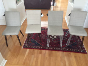 Four brand new chairs - never used