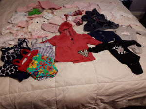0 to 3 month Baby clothes for sale $1 a piece or $140 for all